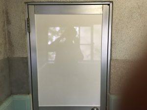 横須賀市 アパートの窓ガラス交換