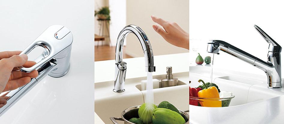 LIXIL(リクシル)のキッチン用水栓金具